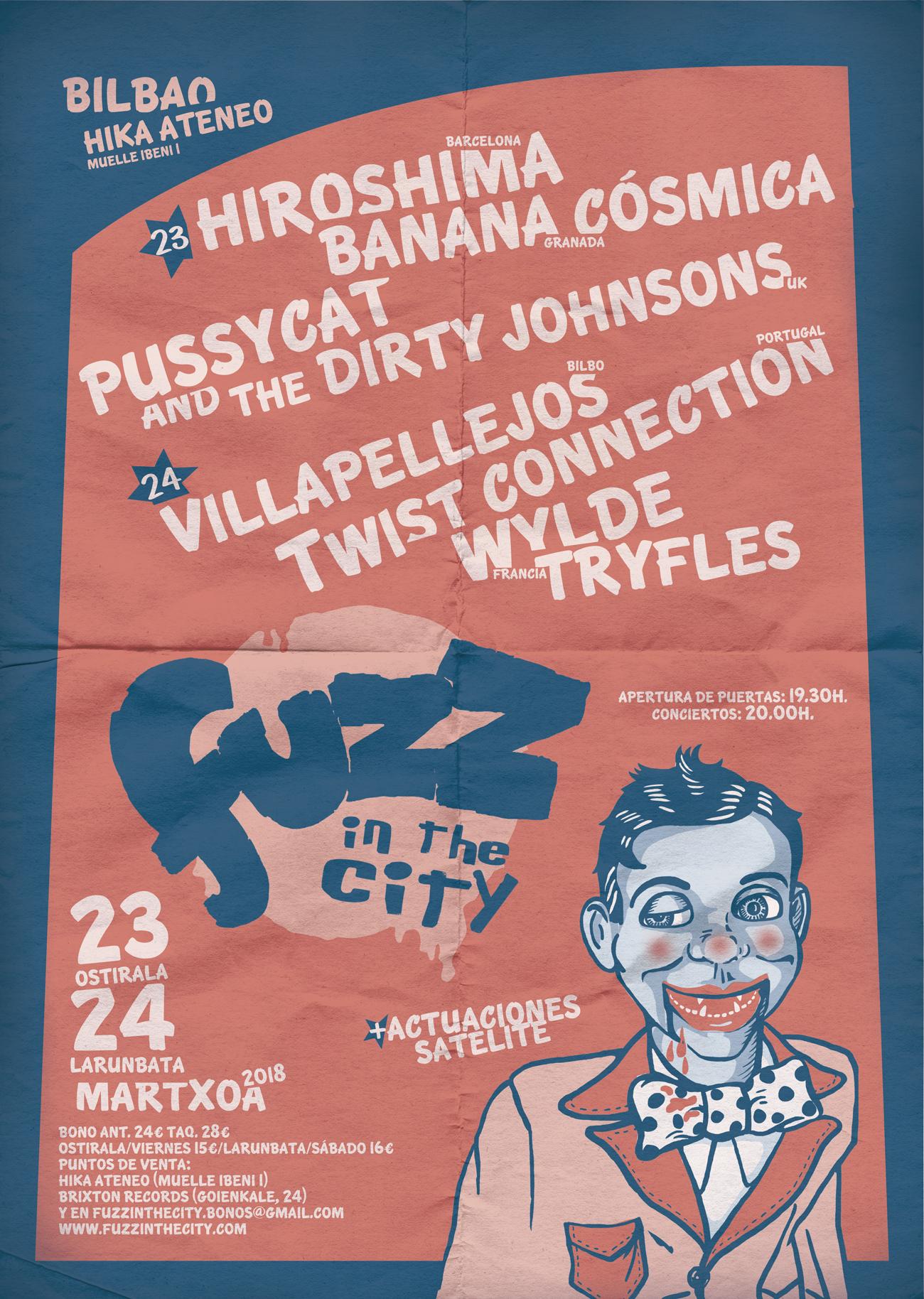 Fuzz in the city 2018 cartel
